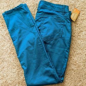 NWT Mossimo Turquoise Skinny Pants